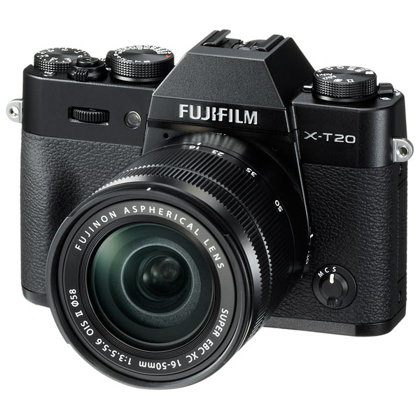 Фотоаппарат системный Fujifilm X-T20 KIT 16-50 II Black
