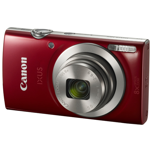 Фотоаппарат компактный Canon IXUS 185 Red