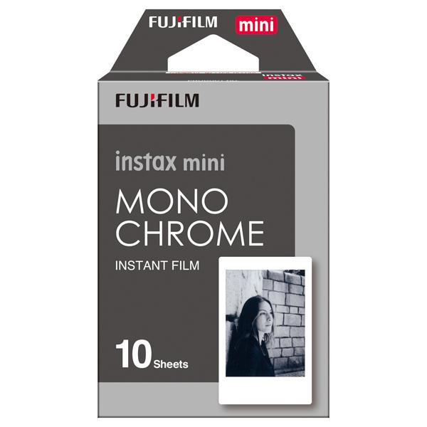 Картридж для фотоаппарата Fujifilm Instax Mini Monochrome fujifilm instax mini 70 black фотокамера мгновенной печати colorfilm instax mini 10 2pk картридж