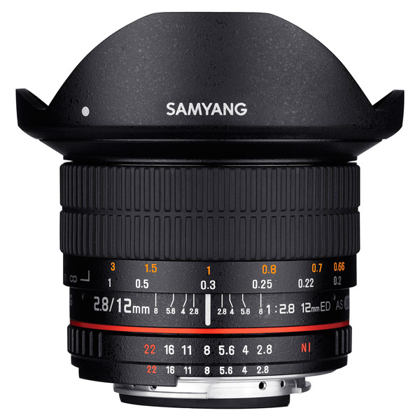 Объектив Samyang 12mm f/2.8 ED AS NCS Fish-eye Fujifilm X fujifilm x t2 body black