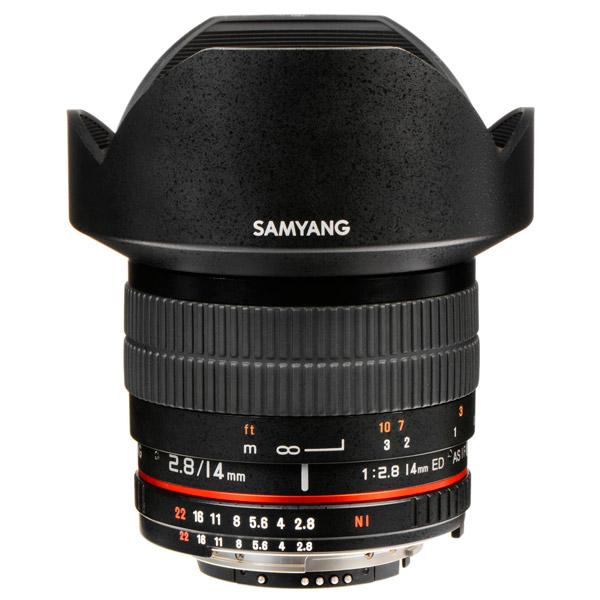 Объектив Samyang 14mm f/2.8 ED AS IF UMC Canon EF объектив samyang 85mm f 1 4 as if canon ef