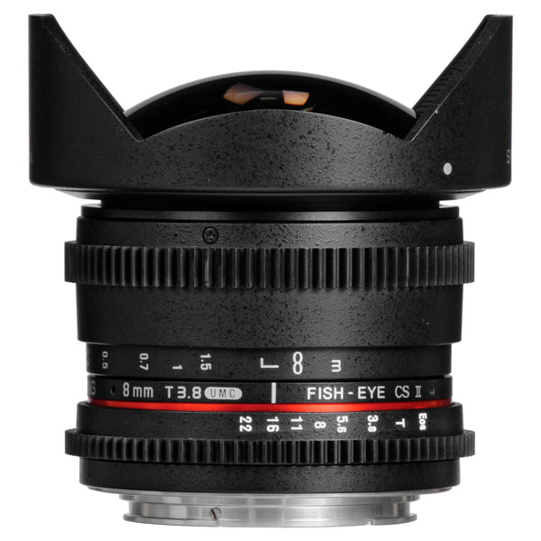 Объектив Samyang 8mm T3.8 AS IF UMC Fish-eye CS II VDSLR Canon EF объектив samyang 85mm f 1 4 as if canon ef