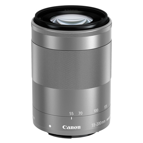Объектив Canon EFM 55-200mm f/4.5-6.3 IS STM Silver