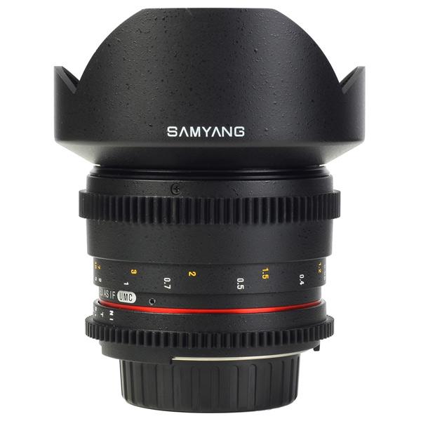 Объектив Samyang 14mm T3.1 ED AS IF UMC VDSLR Sony A (Minolta) объектив samyang mf 14mm f 2 8 ed as if umc sony e
