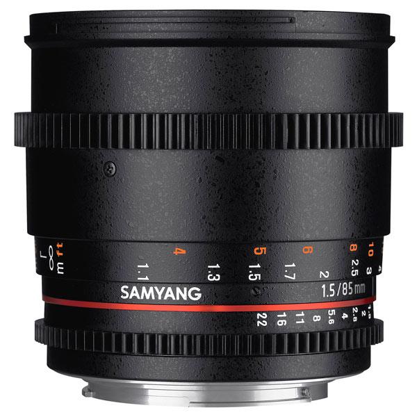 Объектив Samyang 85mm T1.5 AS IF UMC VDSLR II Sony A объектив samyang sony e nex mf 85 mm t1 5 as if umc ii vdslr