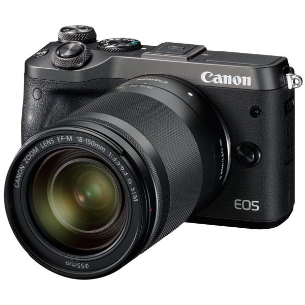 Фотоаппарат системный премиум Canon EOS M6 EF-M18-150 IS STM Kit