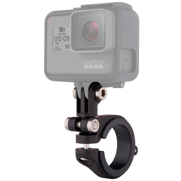 Аксессуар для экшн камер GoPro Крепление на руль/седло/раму 22-35мм (AMHSM-001) аксессуар для экшн камер gopro крепление на руку ahwbm 001