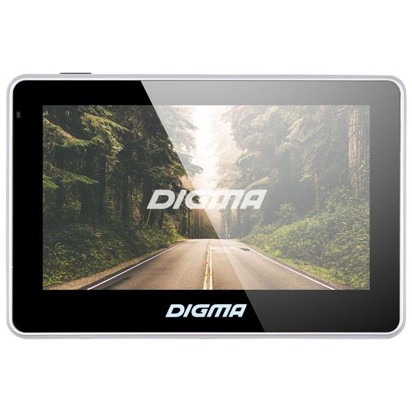 Портативный GPS-навигатор Digma