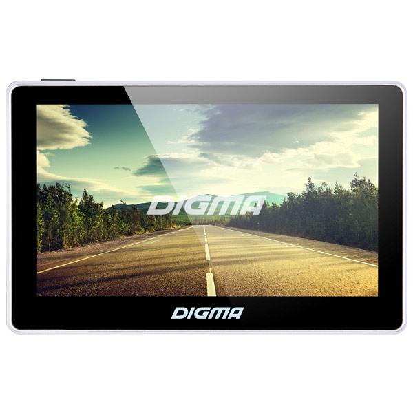 Digma, Портативный gps-навигатор, AllDrive 500 Black