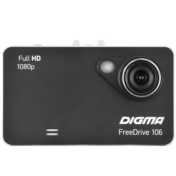 Digma, Видеорегистратор, FreeDrive 106 Black