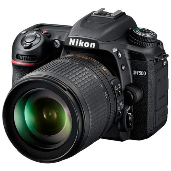 Фотоаппарат зеркальный Nikon D7500 18-105 VR Kit