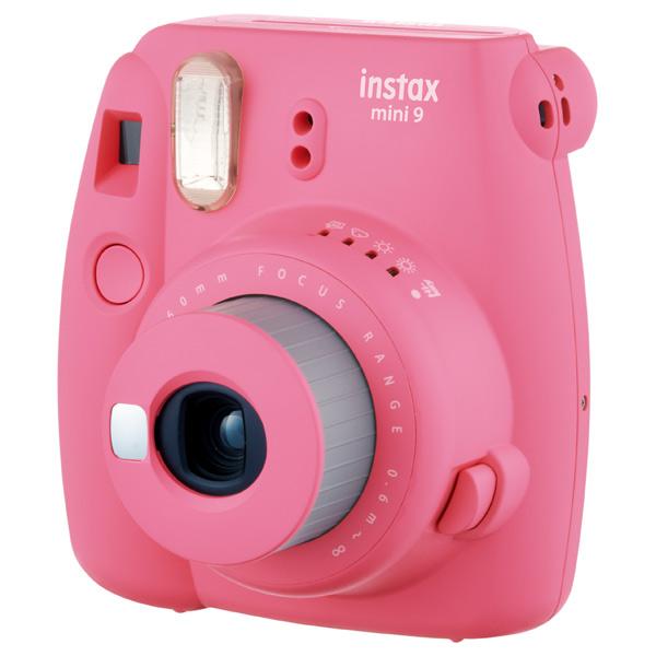 Фотоаппарат моментальной печати Fujifilm Instax Mini 9 Flamingo Pink fujifilm instax mini 70 black фотокамера мгновенной печати colorfilm instax mini 10 2pk картридж