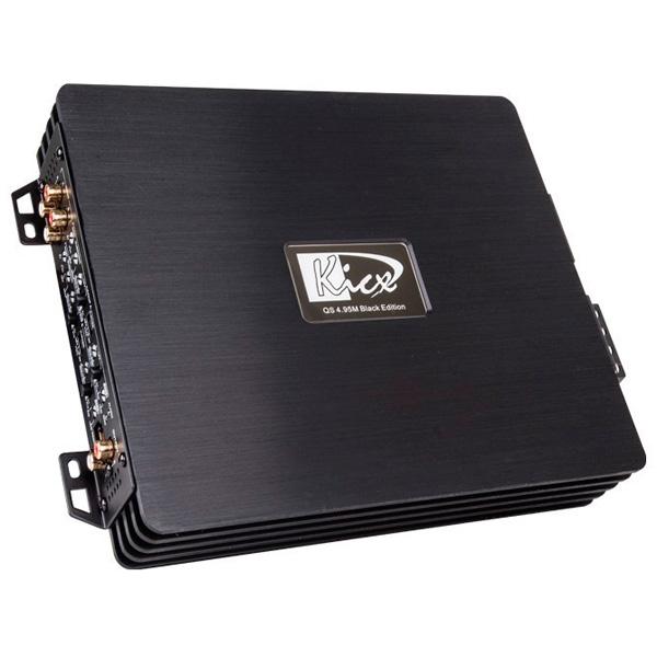 Автомобильный усилитель (4 канала) Kicx QS 4.95M Black