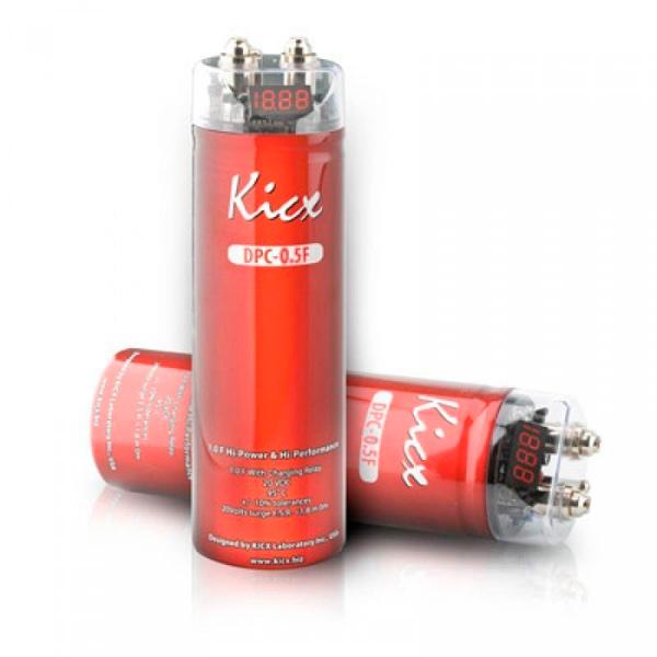 Автомобильный конденсатор Kicx