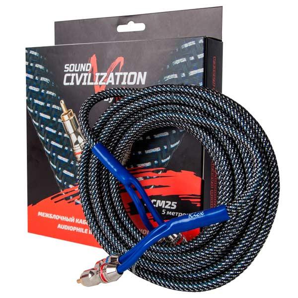 Автомобильный кабель Kicx SCM25
