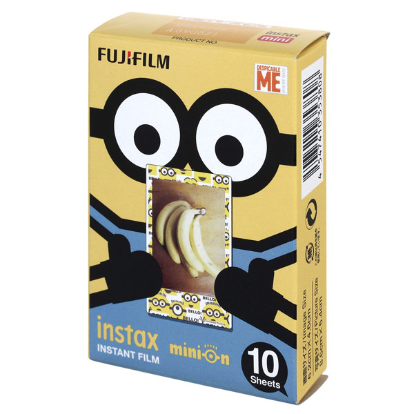Картридж для фотоаппарата Fujifilm INSTAX MINI MINION Гадкий Я fujifilm finepix xp120 голубой
