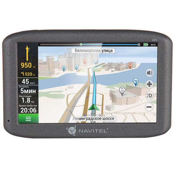 Портативный GPS-навигатор Navitel E500 gps навигатор navitel n500 5 авто 4гб navitel серый