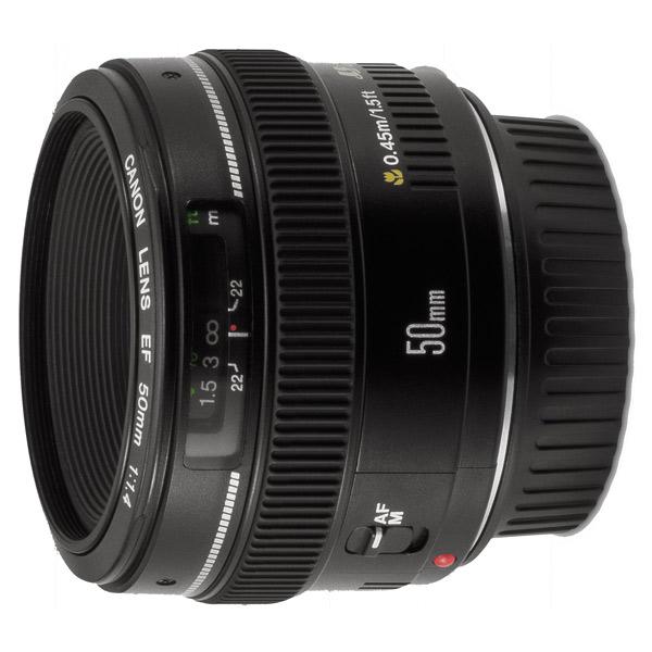 Объектив для зеркального фотоаппарата Canon EF50mm f/1.4 USM