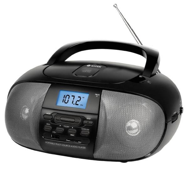 Магнитола VITEK VT-3455 BK