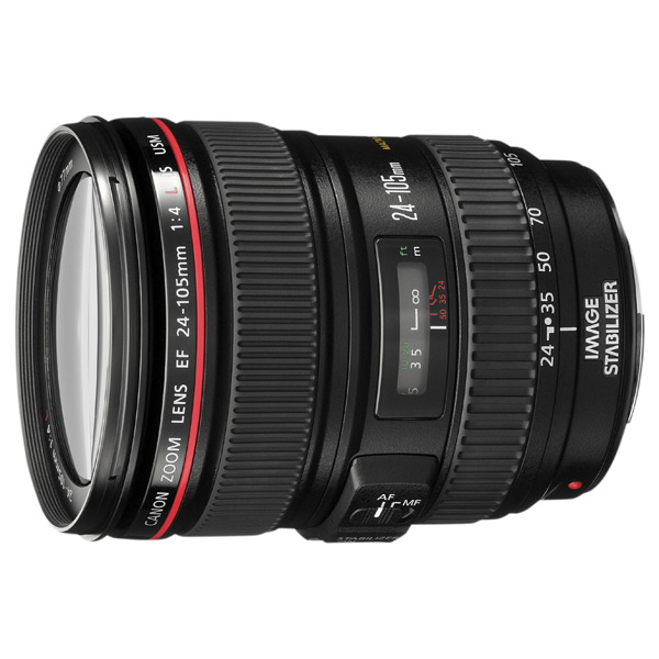 Объектив премиум Canon EF24-105 f/4L IS USM