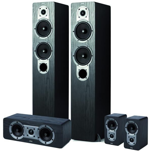 Купить Комплект акустических систем Jamo S426 HCS 3 Black Ash недорого