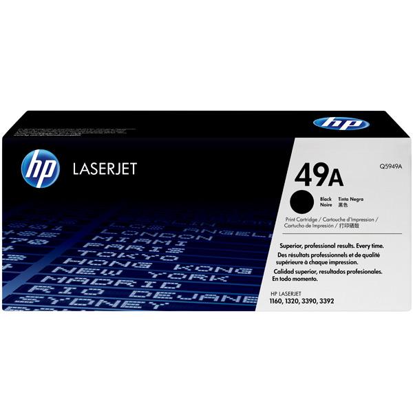 Картридж для лазерного принтера HP 49А Black (Q5949A) jishun jsw 1005 1 8 м 5 портов синий розетка