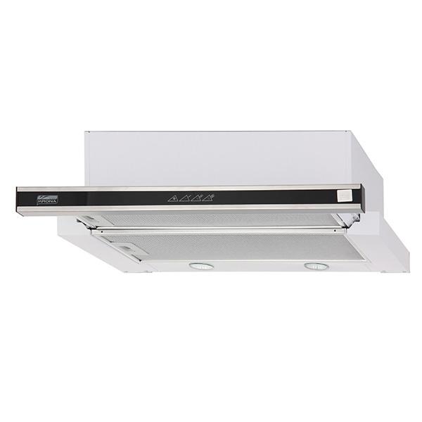 Вытяжка встраиваемая в шкаф 60 см Krona KAMILLA sensor 600 Inox (2 мотора)