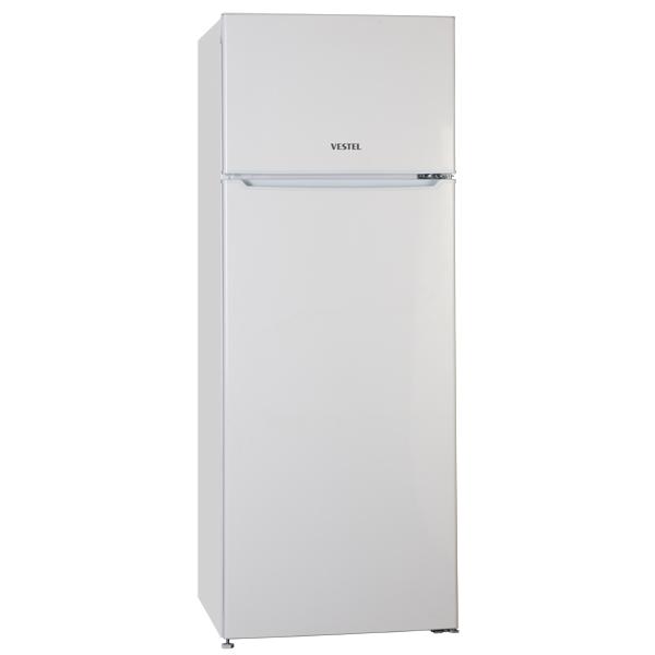 Холодильник с верхней морозильной камерой Vestel
