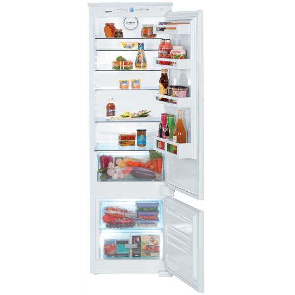 Встраиваемый холодильник комби Liebherr