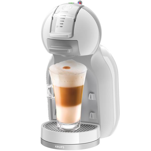 Кофемашина капсульного типа Dolce Gusto KrupsКапсульные кофемашины Dolce Gusto<br>Габаритные размеры (В*Ш*Г): 31*16*24 см,<br>Максимальное давление: 15 Бар,<br>Объем резервуара для воды: 0.8 л,<br>Тип используемого кофе: в капсулах,<br>Базовый цвет: белый,<br>Вид гарантии: гарантийный талон,<br>Тип используемых капсул: Dolce Gusto,<br>Потребляемая мощность: 1500 Вт,<br>Регулир. высоты каплесборника: 8/ 12/ 15 см,<br>Гарантия: 2 года,<br>Материал корпуса: пластик,<br>Серия: Dolce Gusto,<br>Глубина: 24 см,<br>Длина сетевого шнура: 1.1 м,<br>Ширина: 16 см,<br>Максимальная высота чашки: 15 см,<br>Высота: 31 см<br>
