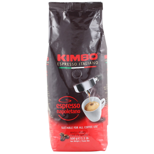 Кофе в зернах Kimbo Espresso Napoletano 500 гр.