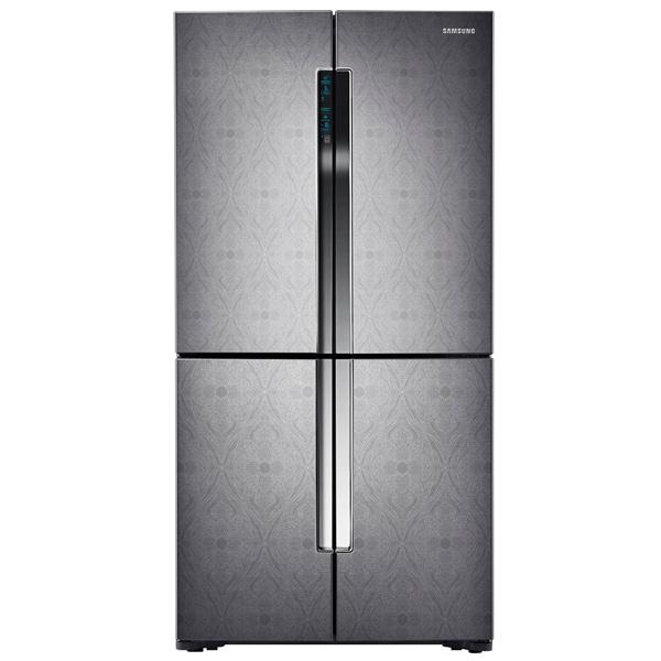 Холодильник многодверный SamsungМногокамерные холодильники<br>Инд. темп. в холод. к-ре: Да,<br>Расположение мороз.камеры: нижнее,<br>Складных полок: 1,<br>Тип дисплея: цифровой,<br>Объем холодильной камеры: 543 л,<br>Объем морозильной камеры: 276 л,<br>Полок на двери мороз. камеры: 6,<br>Контейнер для льда: Да,<br>Класс энергоэффективности: A+,<br>Общий объем: 819 л,<br>Инд. темп. в мороз. к-ре: Да,<br>Разм. холод. камеры: автомат.(No Frost),<br>Страна: Корея,<br>Режим суперохлаждения: автоматический,<br>Энергопотребление в год: 475 кВтч,<br>Гарантия: 1 год,<br>Уровень шума: 38 дБ<br>