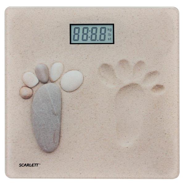 Scarlett, Весы напольные, SC-218 Sand