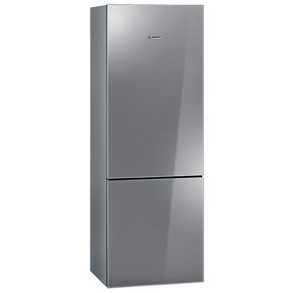 Холодильник с нижней морозильной камерой Широкий Bosch NoFrost KGN49SM22R
