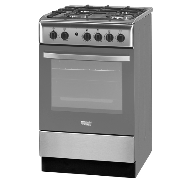 Газовая плита (50-55 см) Hotpoint-Ariston HM5GSI11 (X) RU hotpoint ariston hm 0306 dr0