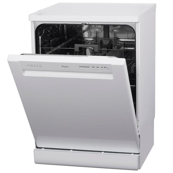 Посудомоечная машина (60 см) WhirlpoolПосудомоечные машины (60 см)<br>Наим. защиты от протечек: Aqua-Control,<br>Предварит. ополаскивание: Да,<br>Габаритные размеры (В*Ш*Г): 85*60*59 см,<br>Серия: Wroclaw Dishwashing,<br>Количество программ мойки: 5,<br>Потребляемая мощность: 2200 Вт,<br>Минипрограмма: 30 мин,<br>Вид гарантии: гарантийный талон,<br>Уровень шума: 48 дБ,<br>Отложенный старт: 2/ 4/ 8 часов,<br>Вес: 51 кг,<br>Класс энергоэффективности: A,<br>Энергопотребление за цикл: 1.02 кВтч,<br>Воронка для засып. соли: Да,<br>Ширина: 60 см,<br>Глубина: 59 см,<br>Базовый цвет: белый<br>