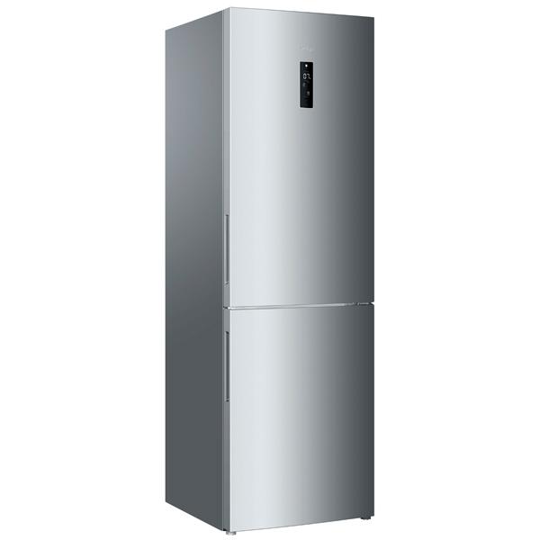 Холодильник с нижней морозильной камерой HaierХолодильники с нижней морозильной камерой<br>Тип управления: сенсорный,<br>Полок в холодильной камере: 5,<br>Базовый цвет: Нерж. сталь,<br>Универсальная камера: Да,<br>Очистка воздуха: угольный фильтр,<br>Инд. темп. в зоне сохр.свежести: Да,<br>Тип освещения: светодиодное,<br>Материал полок: стекло,<br>Складных полок: 1,<br>Режим энергосбережения: Да,<br>Индикация режима работы: Да,<br>Регул. влаж. в отд. д/овощей и фруктов: Да,<br>Инд. темп. в мороз. к-ре: Да,<br>Инд. темп. в холод. к-ре: Да,<br>Объем универсальной камеры: 47 л,<br>Звук.сиг. двери холод.к-ры: Да<br>