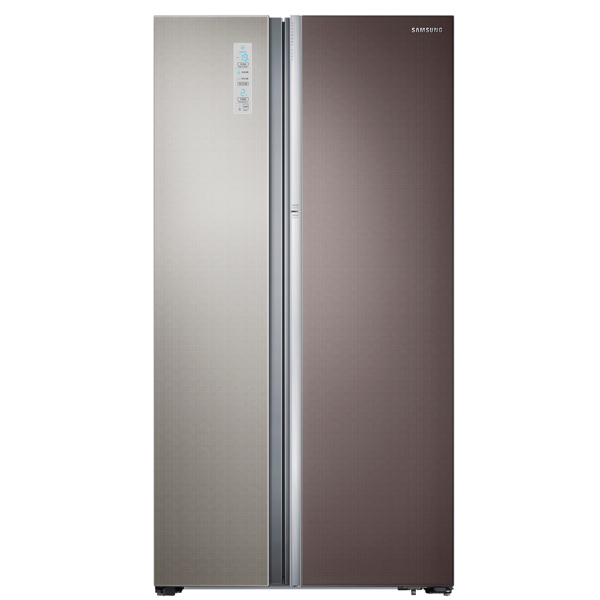 Холодильник (Side-by-Side) Samsung RH60H90203L холодильник side by side samsung samsung rs 57 k4000ww