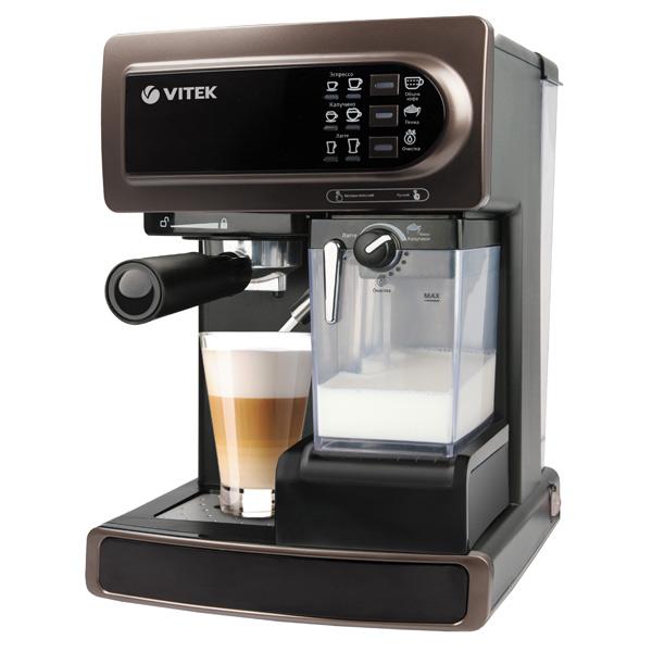 Кофеварка рожкового типа VITEK от М.Видео