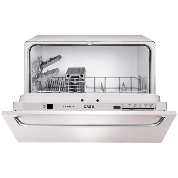 Встраиваемая компактная посудомоечная машина AEG