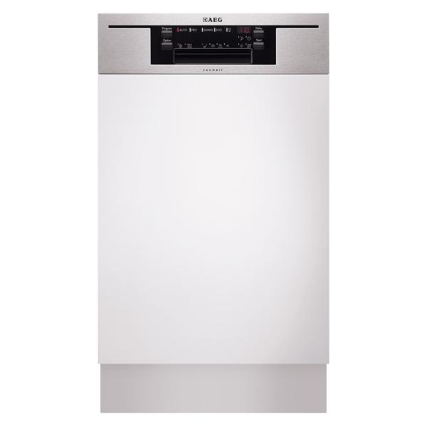 Встраиваемая посудомоечная машина 45 см AEG F65401IM0P