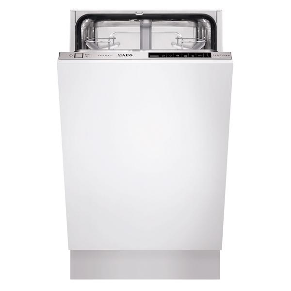 Встраиваемая посудомоечная машина 45 см AEG F88400VI0P