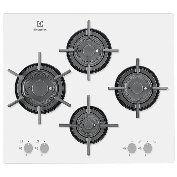 Встраив. газовая панель ElectroluxВстраиваемые газовые панели<br>Ширина: 595 мм,<br>Цвет регуляторов конфорок: нерж. сталь,<br>Глубина: 490 мм,<br>Вид гарантии: гарантийный талон,<br>Цвет: белый,<br>Варочная панель: независимая,<br>Мин.толщина столешницы (мм): 30,<br>Решетка: чугунная,<br>Габаритные размеры (Ш*Г): 595*520 мм,<br>Функция миним. огонь: Да,<br>Размещение панели управ.: спереди,<br>Размер ниши (Ш*Г): 560*490 мм,<br>Газконтроль конфорок: Да,<br>Электроподжиг конфорок: автоматический,<br>Материал варочной поверхности: закаленное стекло,<br>Вес: 12.8 кг,<br>Страна: Италия,<br>Базовый цвет: белый<br><br>Вес кг: 12.8<br>Ширина мм: 595<br>Глубина мм: 490<br>Цвет : белый