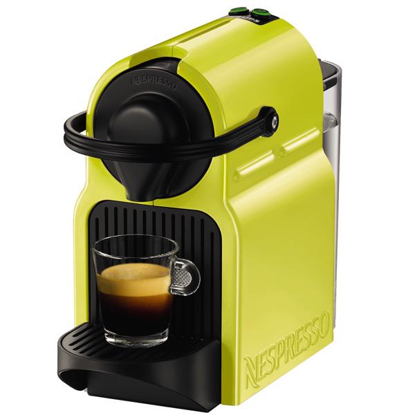 Кофемашина капсульного типа Nespresso KrupsКапсульные кофемашины Nespresso<br>Высота: 23 см,<br>Цвет: лайм,<br>Длина сетевого шнура: 1.1 м,<br>Приготовл. кофе эспрессо: Да,<br>Инд. готовности к работе: Да,<br>Страна: Венгрия,<br>Глубина: 32 см,<br>Ширина: 12 см,<br>Гарантия: 2 года,<br>Вид гарантии: гарантийный талон,<br>Тип используемого кофе: в капсулах,<br>Потребляемая мощность: 1200 Вт,<br>Габаритные размеры (В*Ш*Г): 23*12*32 см,<br>Объем резервуара для воды: 0.7 л,<br>Приготовл. кофе лунго: Да,<br>Серия: Nespresso,<br>Автоматическое отключение: Да,<br>Приготов. кофе ристретто: Да,<br>Материал корпуса: пластик<br>