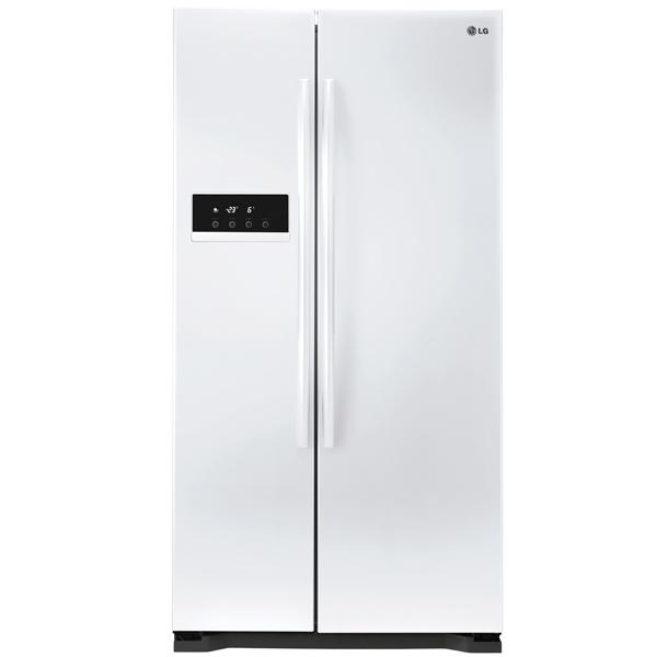 Холодильник (Side-by-Side) LGХолодильники Side-by-Side<br>Класс энергоэффективности: A+,<br>Тип дисплея: цифровой,<br>Объем холодильной камеры: 348 л,<br>Объем морозильной камеры: 180 л,<br>Материал двери: металл,<br>Ящиков в мороз. камере: 2,<br>Отделений в мороз. камере: 1,<br>Базовый цвет: Белый,<br>Вес: 100 кг,<br>Полок в морозильной камере: 3,<br>Энергопотребление в год: 442 кВтч,<br>Материал полок: стекло,<br>Разм. холод. камеры: автомат.(No Frost),<br>Полок на двери мороз. камеры: 5,<br>Мощность замораживания: 12 кг/сутки,<br>Общий объем: 528 л,<br>Инд. темп. в мороз. к-ре: Да<br>