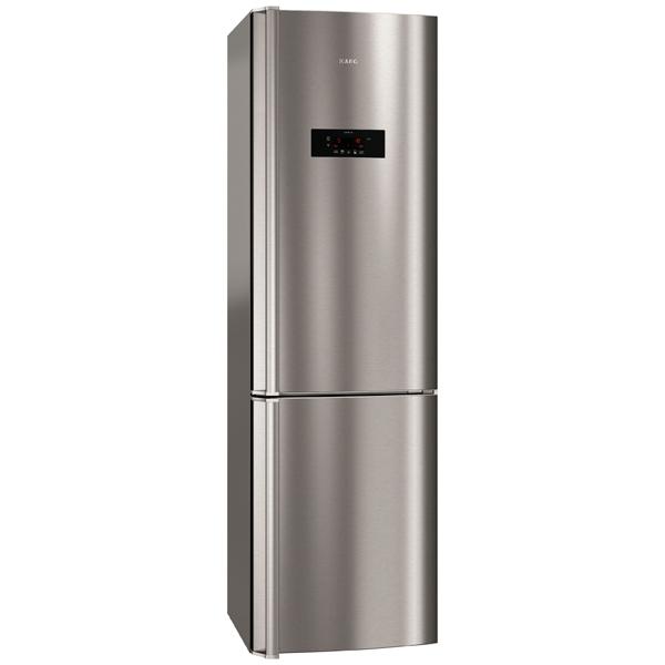 Холодильник с нижней морозильной камерой AEG S99382CMX2