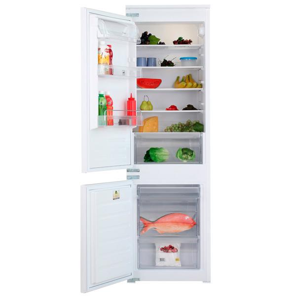 Встраиваемый холодильник комби WhirlpoolВстраиваемые холодильники комби<br>Уровень шума: 35 дБ,<br>Ящиков в зоне сохр. свежести: 1,<br>Базовый цвет: Белый,<br>Хранение при откл. питания: 19 ч,<br>Количество дверей: 2,<br>Индикация включения: Да,<br>Освещение холод. камеры: Да,<br>Объем морозильной камеры: 80 л,<br>Объем холодильной камеры: 197 л,<br>Класс энергоэффективности: A+,<br>Расположение мороз.камеры: нижнее,<br>Мощность замораживания: 3.5 кг/сутки,<br>Серия: Combi Revo,<br>Вес: 50.6 кг,<br>Отделений в зоне сохр. свежести: 1,<br>Разм. мороз. камеры: ручное,<br>Общий  объем: 277 л<br><br>Ширина мм: 540<br>Вес кг: 50.6<br>Глубина мм: 545<br>Высота мм: 1770<br>Цвет : белый
