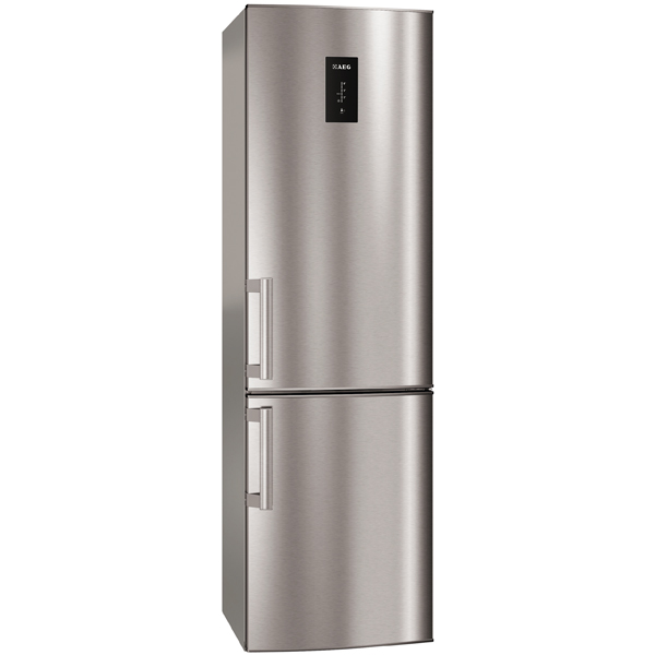Холодильник с нижней морозильной камерой AEG