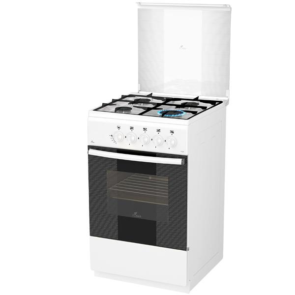 Газовая плита (50-55 см) Flama AG14015 White