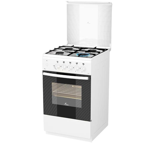 Газовая плита (50-55 см) Flama AG14213 White